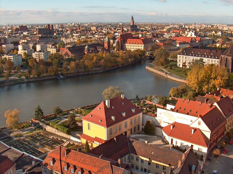 punkty widokowe Wrocław